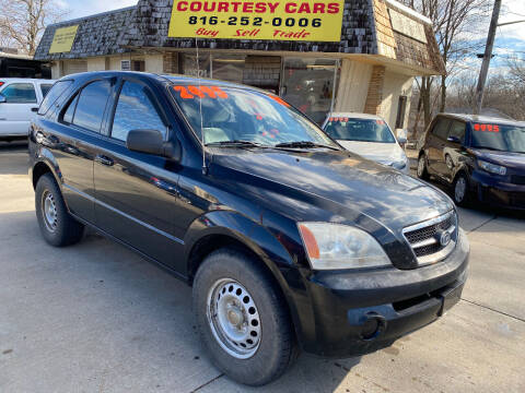 2005 Kia Sorento for sale at Courtesy Cars in Independence MO