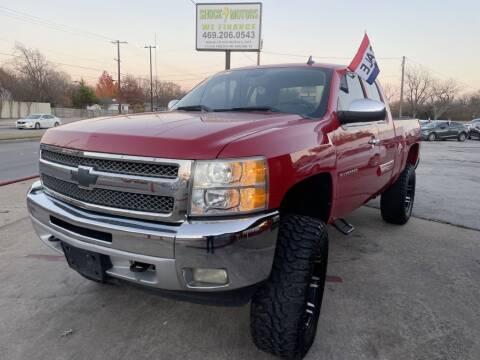 2012 Chevrolet Silverado 1500 for sale at Shock Motors in Garland TX