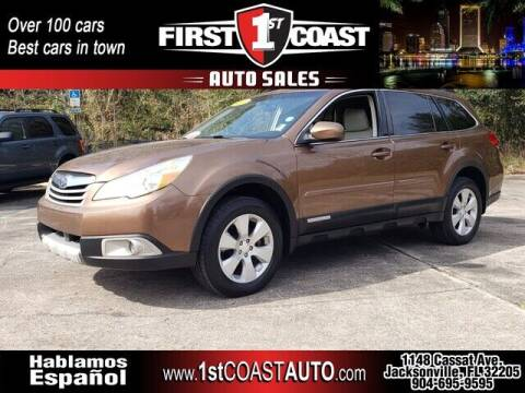 2011 Subaru Outback for sale at 1st Coast Auto -Cassat Avenue in Jacksonville FL