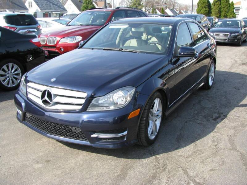 2013 Mercedes-Benz C-Class for sale at CLASSIC MOTOR CARS in West Allis WI