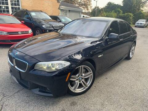 2013 BMW 5 Series for sale at Philip Motors Inc in Snellville GA