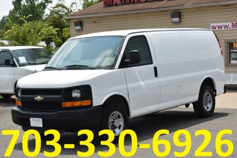 2011 Chevrolet Express Cargo for sale at MANASSAS AUTO TRUCK in Manassas VA