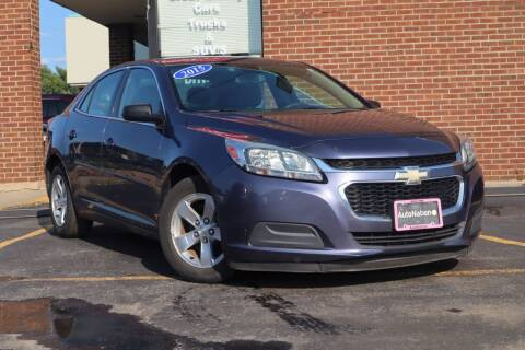 2015 Chevrolet Malibu for sale at Hobart Auto Sales in Hobart IN