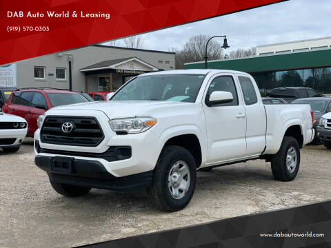 2016 Toyota Tacoma for sale at DAB Auto World & Leasing in Wake Forest NC
