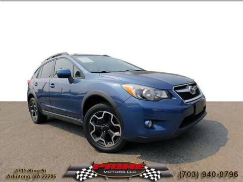 2013 Subaru XV Crosstrek for sale at PRIME MOTORS LLC in Arlington VA