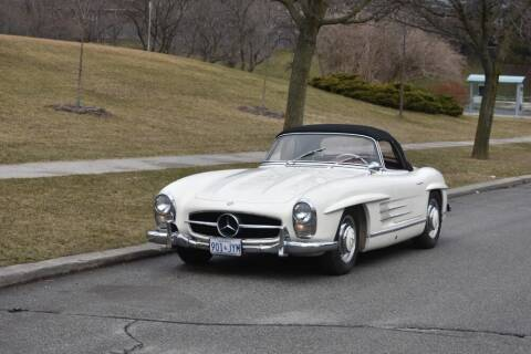 1957 Mercedes-Benz SL-Class for sale at Gullwing Motor Cars Inc in Astoria NY