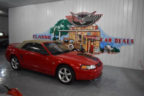 1999 Ford Mustang for sale at Classic Car Deals in Cadillac MI