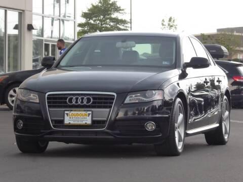 2012 Audi A4 for sale at Loudoun Motor Cars in Chantilly VA