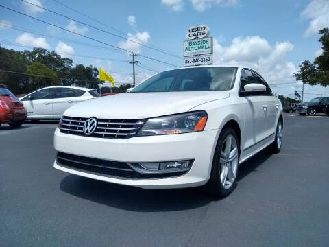 2014 Volkswagen Passat for sale at BAYSIDE AUTOMALL in Lakeland FL