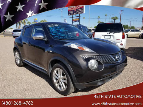 2011 Nissan JUKE for sale at 48TH STATE AUTOMOTIVE in Mesa AZ