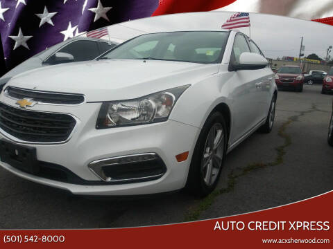 2015 Chevrolet Cruze for sale at Auto Credit Xpress in North Little Rock AR