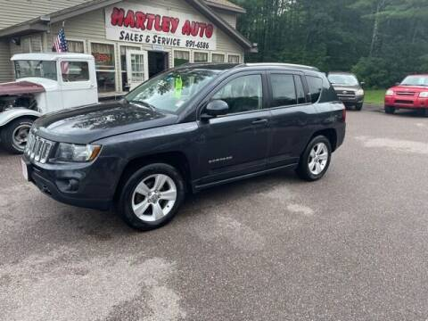 2014 Jeep Compass for sale at Hartley Auto Sales & Service in Milton VT