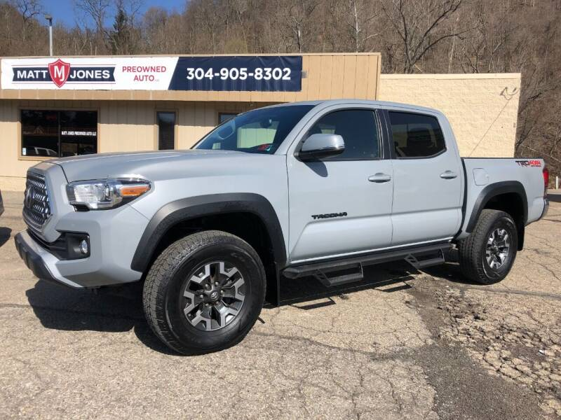 2019 Toyota Tacoma for sale at Matt Jones Preowned Auto in Wheeling WV