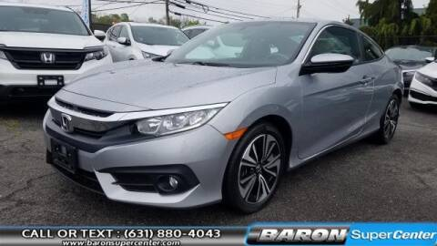 2018 Honda Civic for sale at Baron Super Center in Patchogue NY