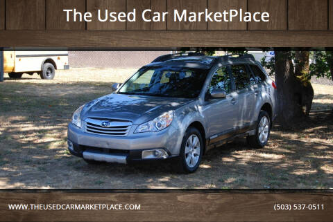 2011 Subaru Outback for sale at The Used Car MarketPlace in Newberg OR