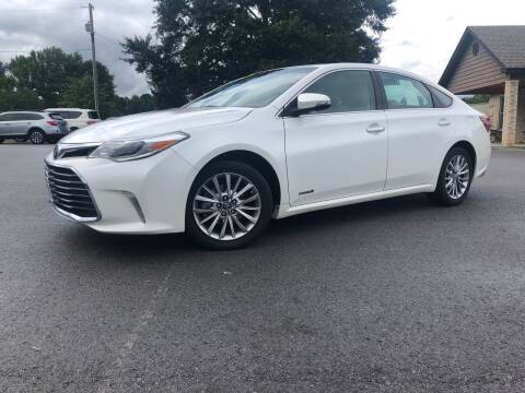 2016 Toyota Avalon Hybrid for sale at Callahan Motor Co. in Benton AR