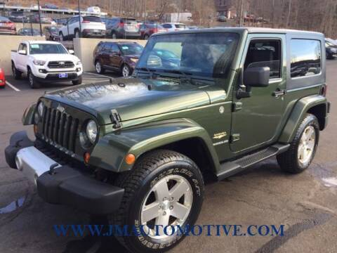 2009 Jeep Wrangler for sale at J & M Automotive in Naugatuck CT