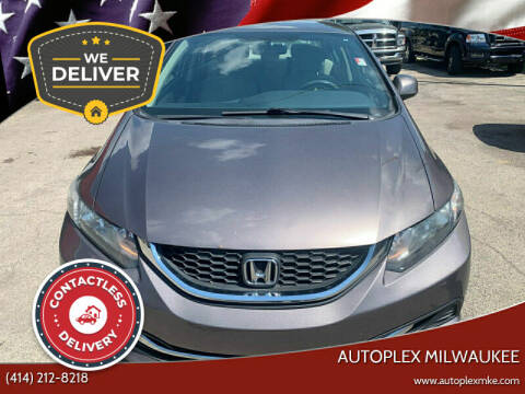 2013 Honda Civic for sale at Autoplex in Milwaukee WI