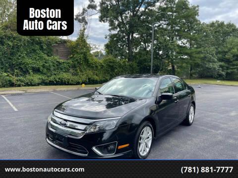 2010 Ford Fusion for sale at Boston Auto Cars in Dedham MA