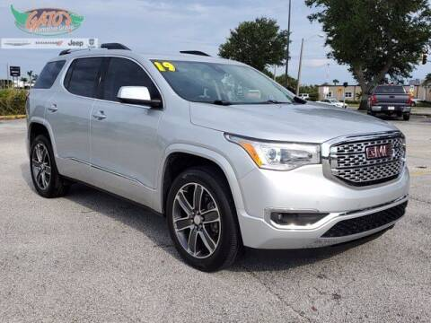 2019 GMC Acadia for sale at GATOR'S IMPORT SUPERSTORE in Melbourne FL