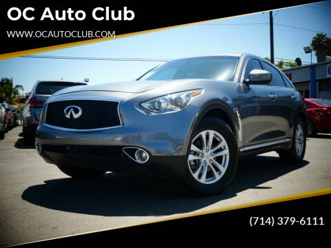 2017 Infiniti QX70 for sale at OC Auto Club in Midway City CA