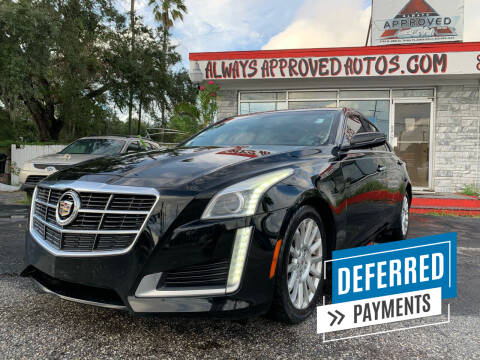 2014 Cadillac CTS for sale at Always Approved Autos in Tampa FL