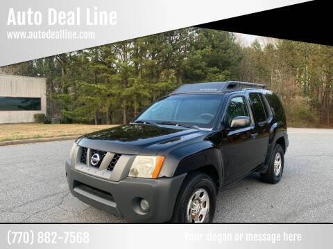 2007 Nissan Xterra for sale at Auto Deal Line in Alpharetta GA