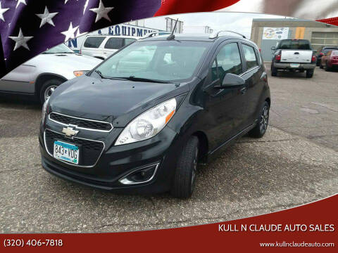 2013 Chevrolet Spark for sale at Kull N Claude Auto Sales in Saint Cloud MN