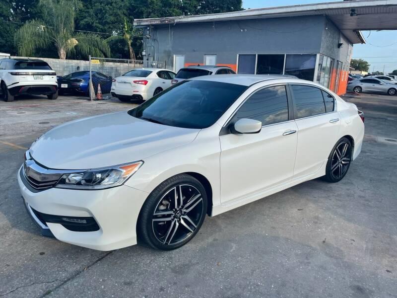 2017 Honda Accord for sale at P J Auto Trading Inc in Orlando FL