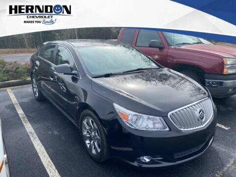 2011 Buick LaCrosse for sale at Herndon Chevrolet in Lexington SC