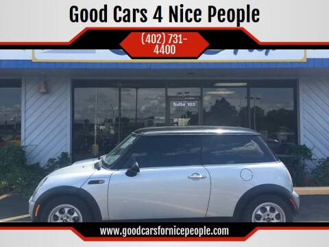 2004 MINI Cooper for sale at Good Cars 4 Nice People in Omaha NE