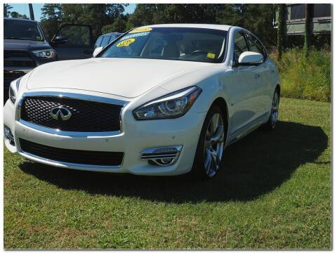 2018 Infiniti Q70L for sale at STRICKLAND AUTO GROUP INC in Ahoskie NC