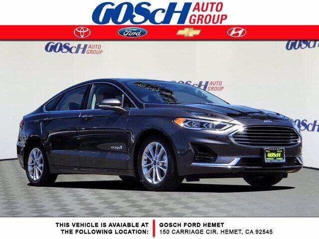 2019 Ford Fusion Hybrid for sale in Hemet, CA
