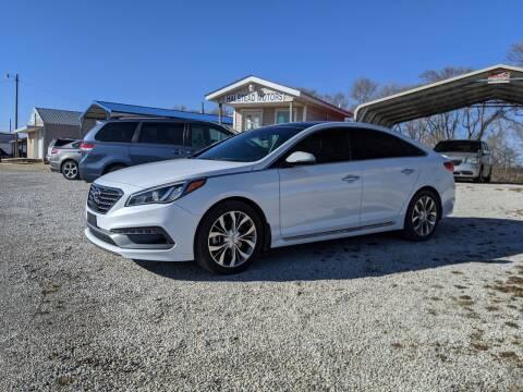 2015 Hyundai Sonata for sale at Halstead Motors LLC in Halstead KS