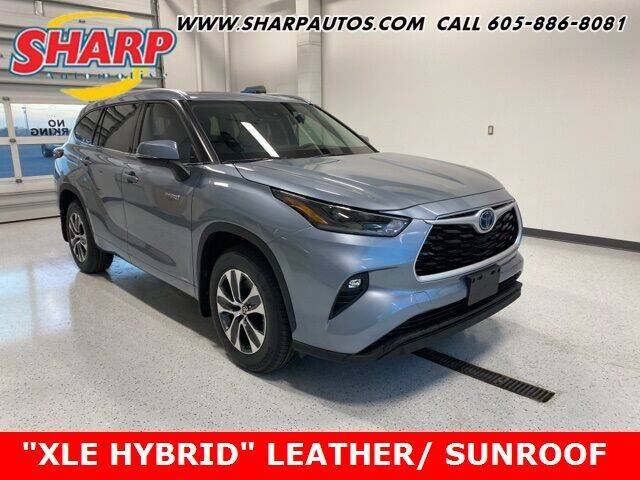 2021 Toyota Highlander Hybrid for sale at Sharp Automotive in Watertown SD