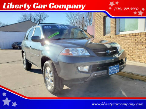 2003 Acura MDX for sale at Liberty Car Company in Waterloo IA