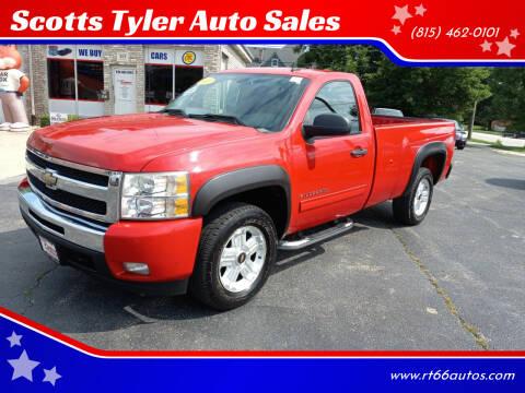 2011 Chevrolet Silverado 1500 for sale at Scotts Tyler Auto Sales in Wilmington IL