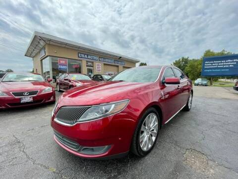 2013 Lincoln MKS for sale at USA Auto Sales & Services, LLC in Mason OH