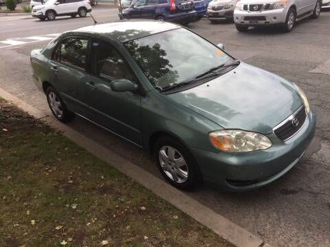 2005 Toyota Corolla for sale at UNION AUTO SALES in Vauxhall NJ