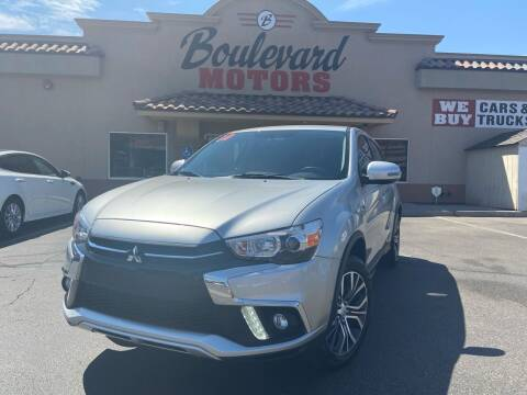 2019 Mitsubishi Outlander Sport for sale at Boulevard Motors in St George UT