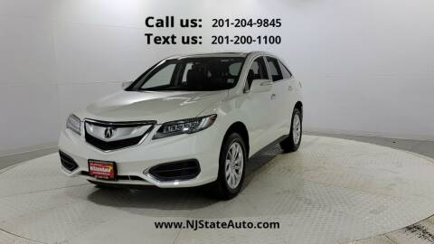 2018 Acura RDX for sale at NJ State Auto Used Cars in Jersey City NJ