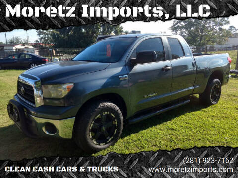 2007 Toyota Tundra for sale at Moretz Imports, LLC in Spring TX