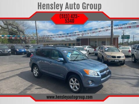2011 Toyota RAV4 for sale at Hensley Auto Group in Middletown OH