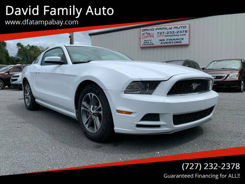 2014 Ford Mustang for sale at David Family Auto in New Port Richey FL