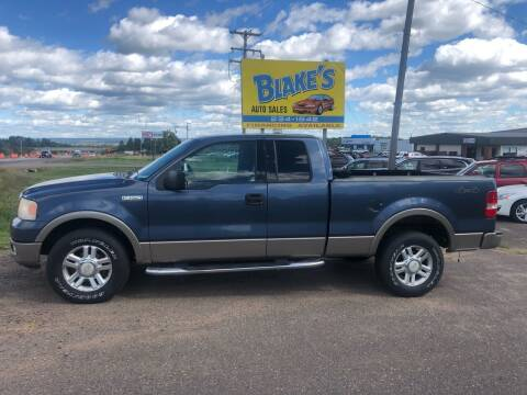 2004 Ford F-150 for sale at Blakes Auto Sales in Rice Lake WI