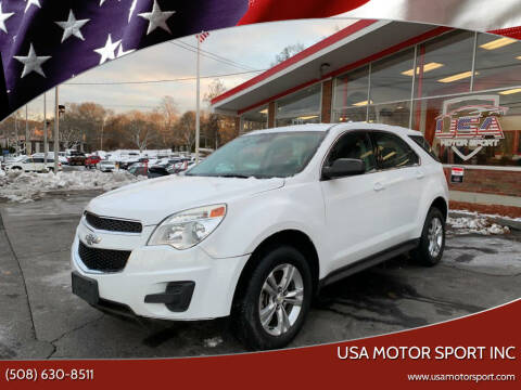 2013 Chevrolet Equinox for sale at USA Motor Sport inc in Marlborough MA