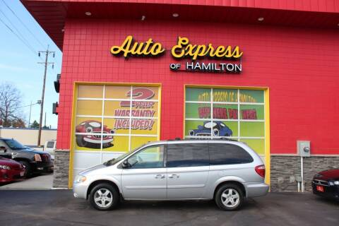 2007 Dodge Grand Caravan for sale at AUTO EXPRESS OF HAMILTON LLC in Hamilton OH