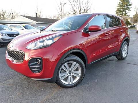 2017 Kia Sportage for sale at GAHANNA AUTO SALES in Gahanna OH