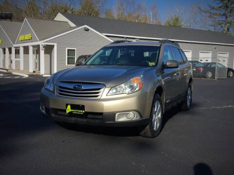 2010 Subaru Outback for sale at 207 Motors in Gorham ME
