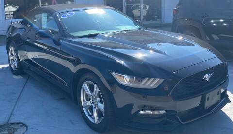 2015 Ford Mustang for sale at Harborcreek Auto Gallery in Harborcreek PA